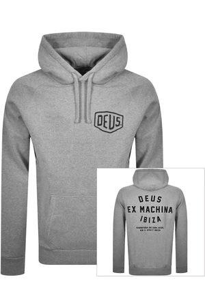 Deus Ex Machina Ibiza Logo Hoodie Grey