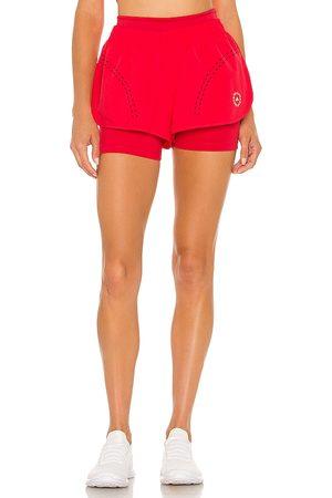 adidas Truepur Short in Red.