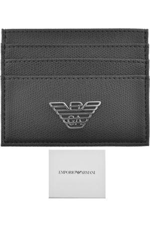 Armani Men Wallets - Emporio Leather Card Holder