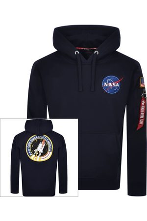 Alpha Industries Men Hoodies - Space Shuttle Hoodie Navy