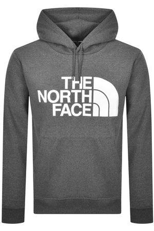 The North Face Men Hoodies - Logo Hoodie Grey