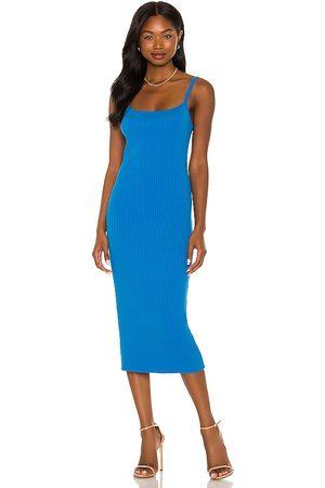 LINE & DOT Eva Knit Ribbed Dress & Shrug Set in .