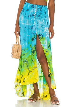 TIARE HAWAII Dakota Skirt in ,Green.