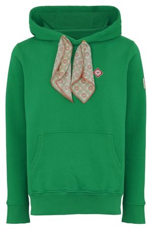 Casablanca Scarf Hooded sweatshirt