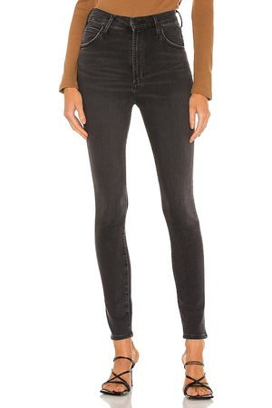 Citizens of Humanity Chrissy High Rise Skinny in Black.