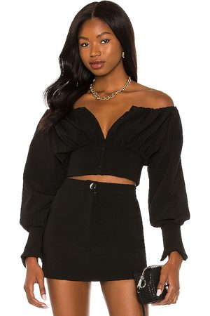 h:ours Sybille Off Shoulder Top in .