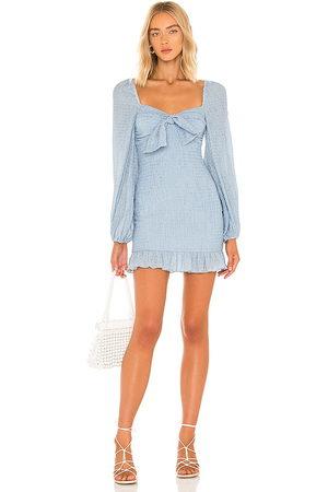 MAJORELLE Sofia Mini Dress in Baby .