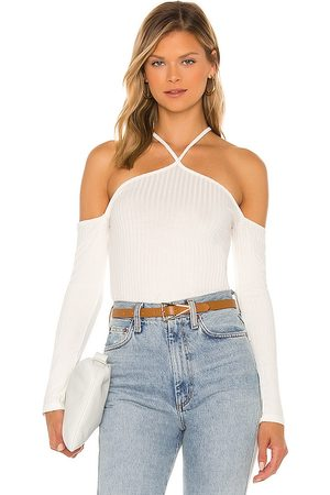 1. STATE Off The Shoulder Cross Front Top in .