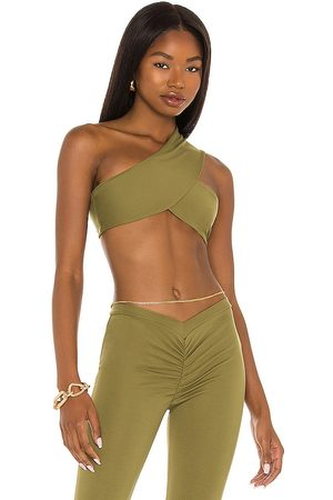 Miaou Elvis Top in Olive.