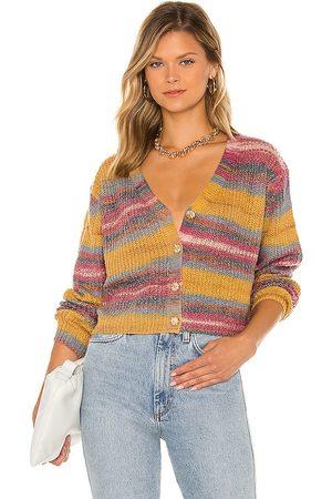 LINE & DOT Women Cardigans - Be Mine Multi Sweater in .