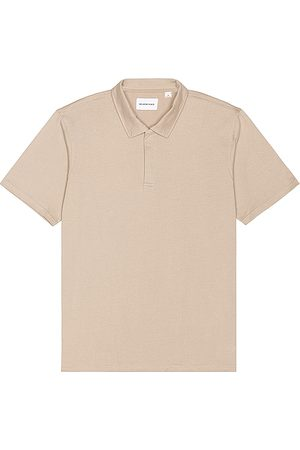 Melrose Place Brookside Polo in Beige.
