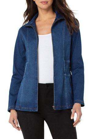 Liverpool Los Angeles Women's Smock Waist Denim Jacket