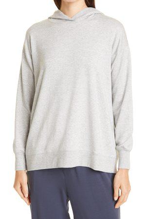 Eileen Fisher Women's Boxy Fleece Hoodie