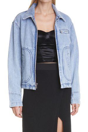 RtA Denim Women's Reese Zip Denim Jacket