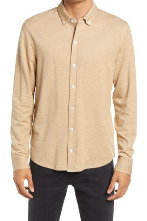 Vince Men's Cotton & Cashmere Twill Long Sleeve Button-Down Shirt