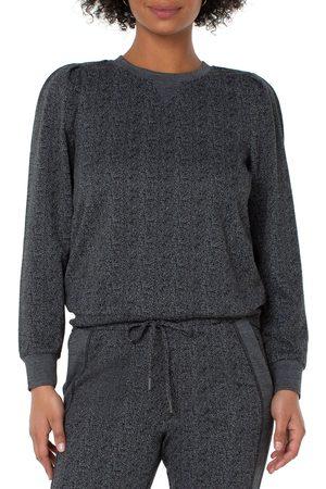 Liverpool Los Angeles Women's Puff Sleeve Crewneck Sweater