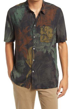 WoodWood Men's Thor Short Sleeve Button-Up Shirt