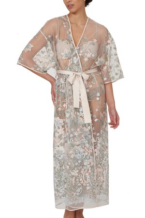 Rya Collection Women's Iris Embroidered Lace Robe