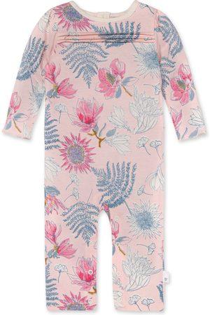 Burt's Bees Infant Girl's Dinosaur Flowers Organic Cotton Romper