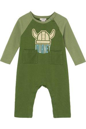 Peek Essentials Infant Boy's Explore Graphic Romper