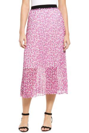 Halogen Women's Halogen Pleated Midi Skirt