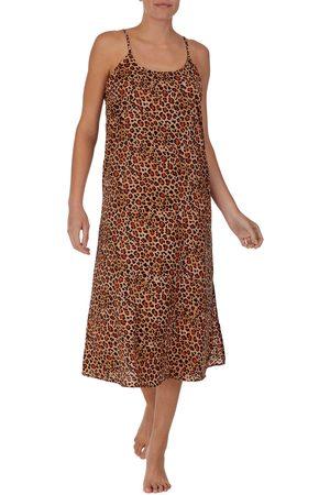 Room Service Women's Animal Print Nightgown