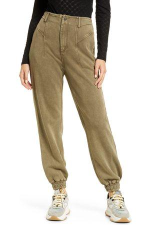 BLANK NYC Women's Cotton Jogger Sweatpants