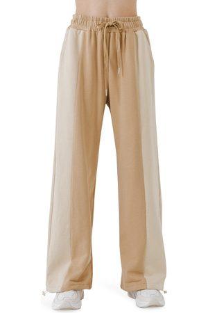Grey Lab Women's Colorblock Lounge Pants