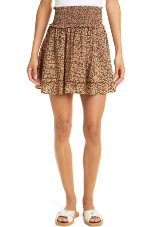Rails Women's Addison Print Smocked Waist Skirt