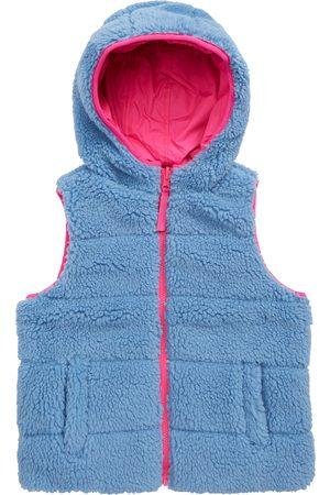 Tucker + Tate Toddler Girl's Kids' Faux Fur Reversible Vest