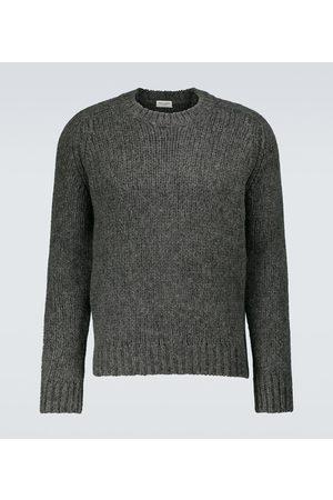 Saint Laurent Heavy-knit crewneck sweater