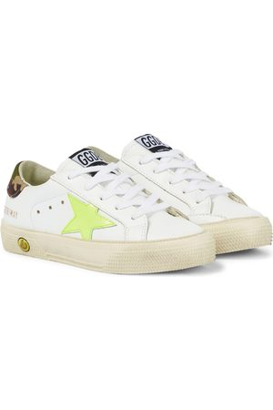 Golden Goose Sneakers - May leather sneakers