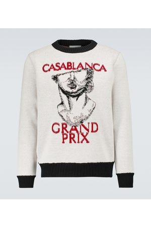 Casablanca 3D Grand Prix printed sweatshirt