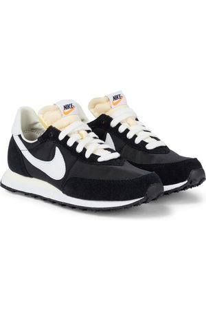 Nike Waffle Trainer 2 suede-trimmed sneakers