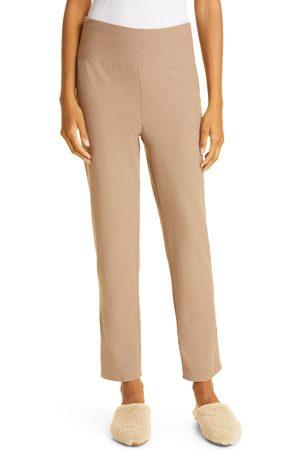 Eileen Fisher Women's High Waist Ankle Slim Pants
