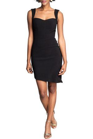 Dress The Population Women's Amora Asymmetric Minidress