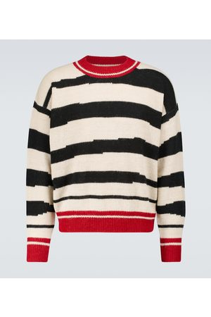 Isabel Marant Deconstructed striped sweater