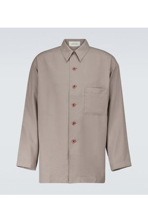 LEMAIRE Silk pajama shirt