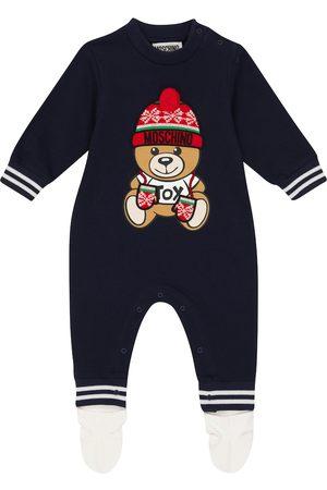 Moschino Baby Teddy stretch-cotton onesie