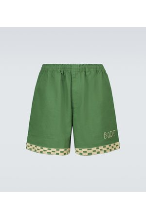 BODE Checkerboard rugby shorts