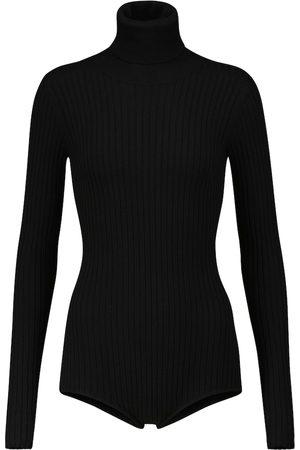 DODO BAR OR Ribbed-knit turtleneck bodysuit