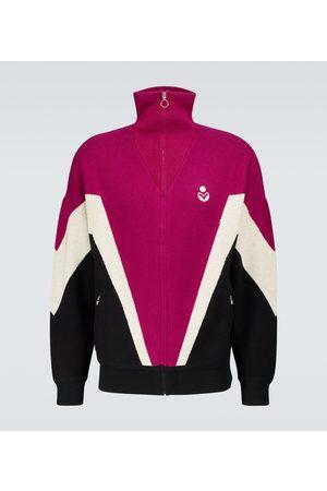 Isabel Marant Men Jackets - Roman colorblocked jacket