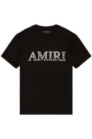 AMIRI Leopard Tee in