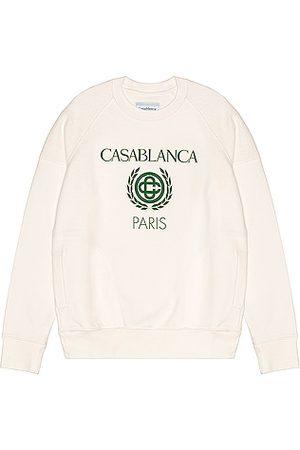 Casablanca Reverse Loopback Panel Sweatshirt in