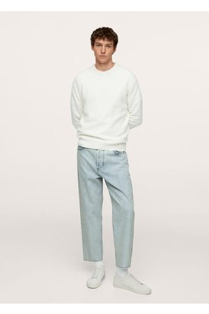 MANGO Men Tapered - Tapered loose cropped jeans