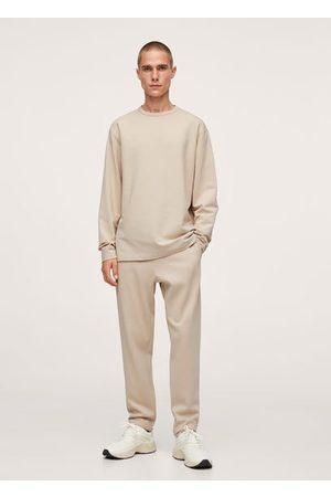 MANGO Men Long Sleeve - Relaxed long-sleeve t-shirt