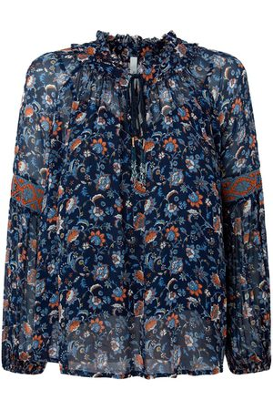 Pepe Jeans Women Long sleeves - Kiara Long Sleeve Shirt L Multi