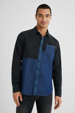 Desigual Denim Hybrid Shirt