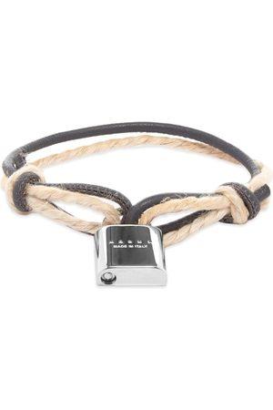 Marni Logo Lock Bracelet