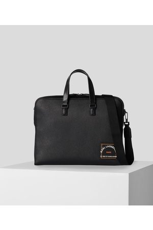 Karl Lagerfeld RUE ST-GUILLAUME SAFFIANO LEATHER BRIEFCASE